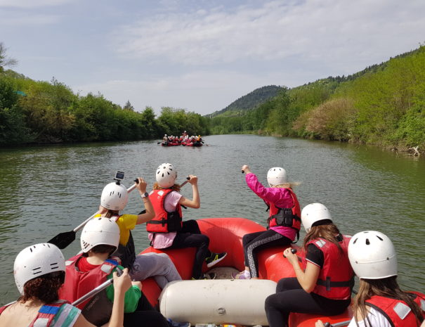 rafting serchio