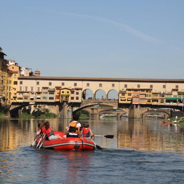 rafting ponte vecchio